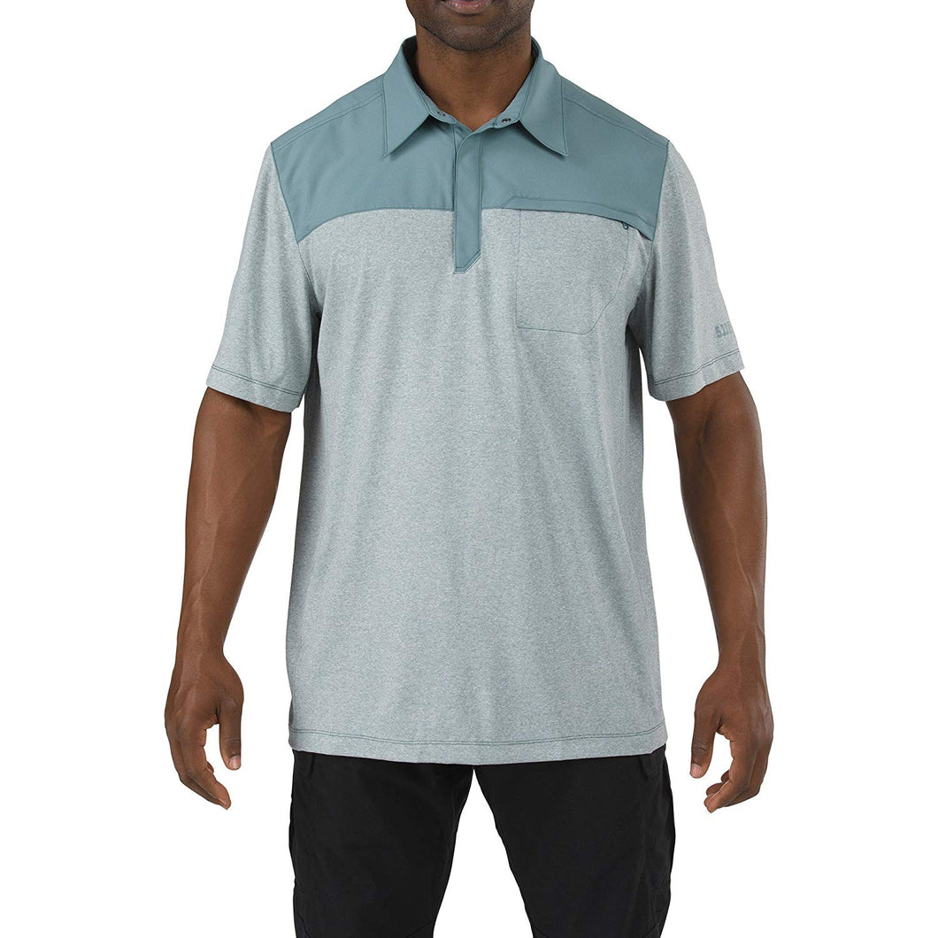 5.11 Tactical - Rapid Response Polo - Silver Pine - 71351