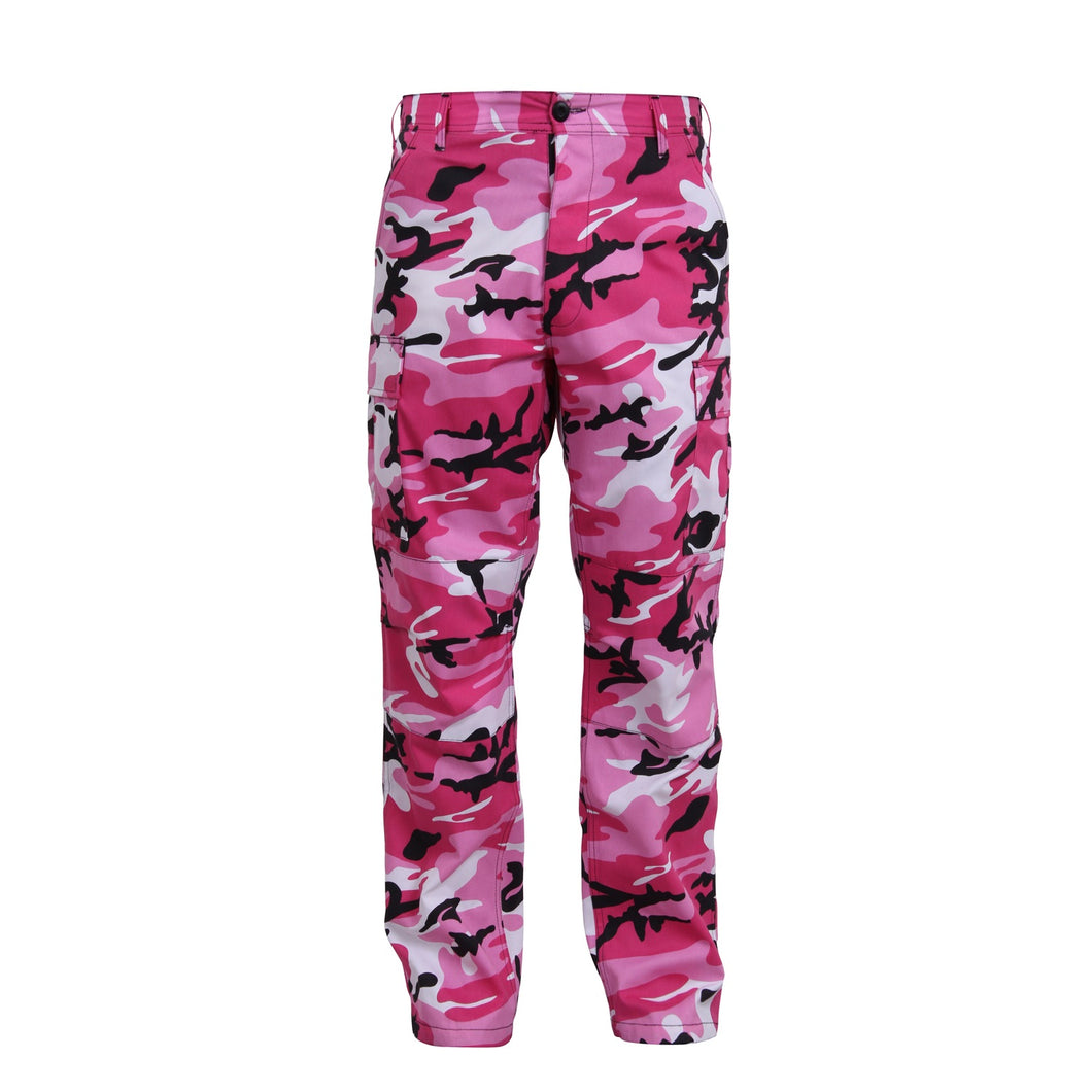 Rothco - Color Camo Tactical BDU Pant - Pink Camo - 8670