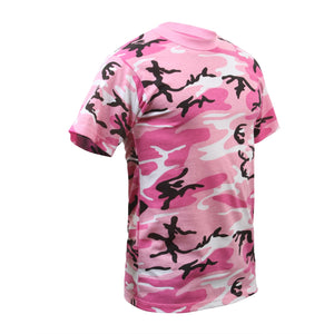Rothco - Colored Camo T-Shirts - Pink Camo - 8987