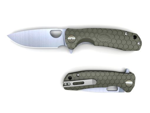 Honey Badger - Flipper Medium - Green - HB1013