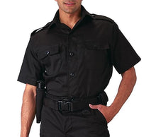 Load image into Gallery viewer, Rothco - Short Sleeve Tactical Shirt - Black - 30206