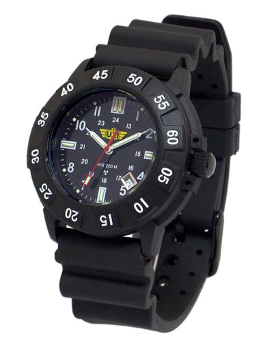 UZI - Protector - Swiss Tritium Watch Black - UZI-001-M
