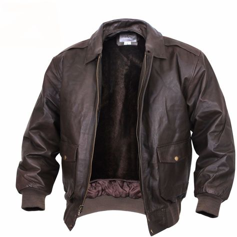 Rothco - Vintage Leather Jacket - Brown - 22443
