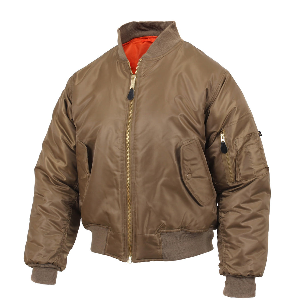 Rothco - MA-1 Flight Jacket - Coyote Brown - 7544