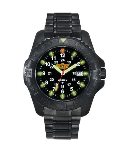 UZI - Defender Tritium Watch Black - UZI-032-BSS