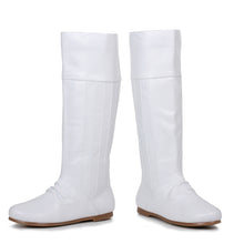 "105-LEANNA, 1"" Women's Avenger Costume Boots in White"
