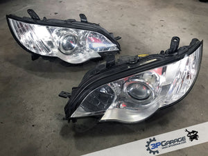 HID Headlights from 2007 Subaru Liberty GT Spec B [#139]