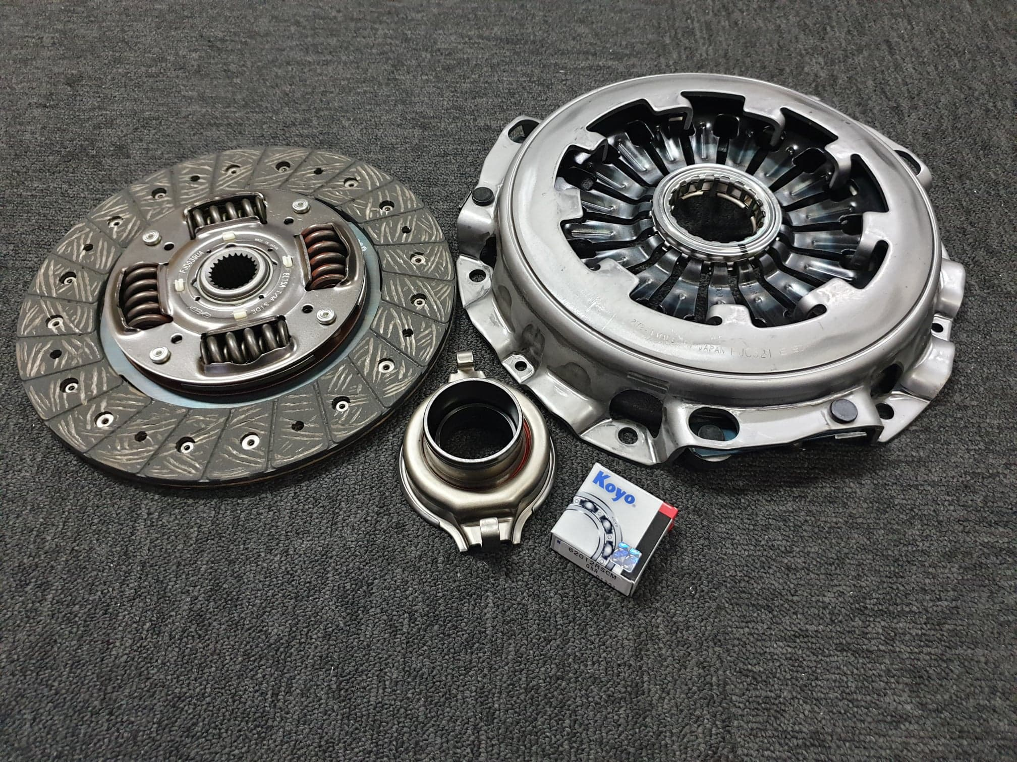 7123 Standard Replacement Pull Style Clutch Kit