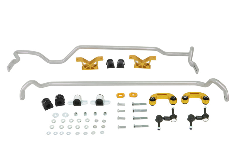 Front And Rear Sway Bar Vehicle Kit (WRX/STI 00-07)
