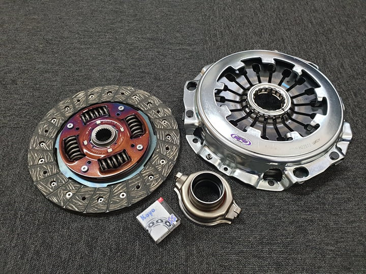 NPC7123 Heavy Duty Organic Pull Style Clutch Kit.