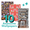 10 Awesome Nursery Wallpapers