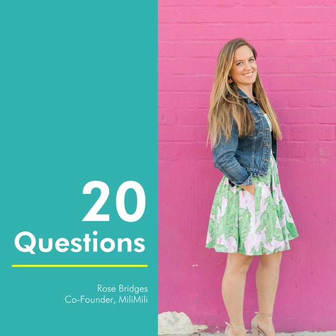 20 Questions with Rose Bridges