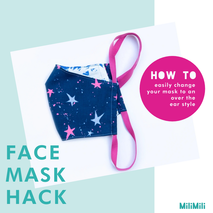 How to convert your face mask into an over-the-ear style
