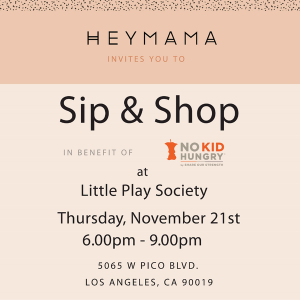 HeyMama Holiday Sip + Shop