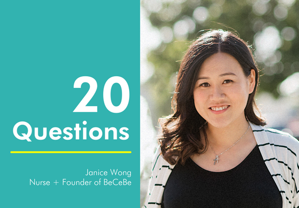 20 Questions with Janice Wong