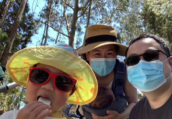 Janice Wong and family