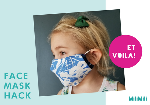 face mask hack: et voila - what it looks like when completed