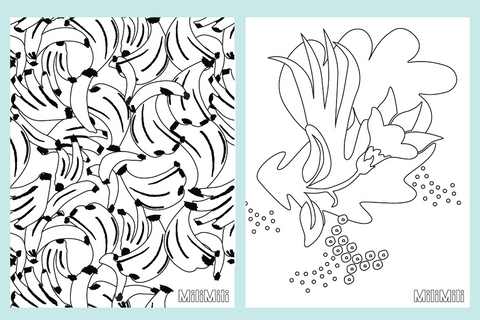 milimili free coloring pages download