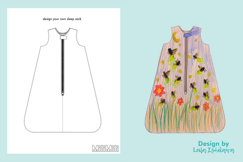 free milimili coloring pages with design by leila ishikawa