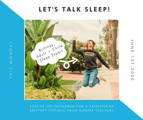 brittney stefanic founder of sleeperteachers to take over milimili instagram on monday june 1st