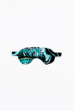 Load image into Gallery viewer, Power nap eye mask, shown in Kauai One (palm leaf) print