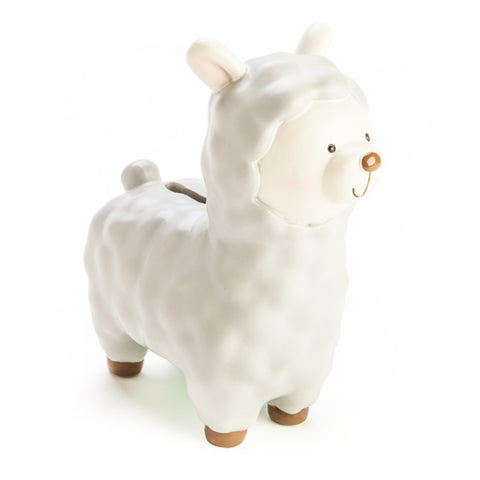 Baby Alpaca Money Box