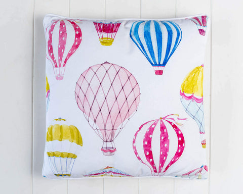 NEW ARRIVAL!!! Float Away - Hot Air Balloon Cushion