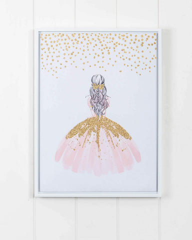 Dress of Dreams 30cm x 40cm Canvas Print