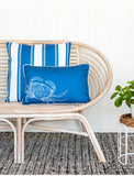 Coastal Chic Crabby Cushion 60cm x 40cm