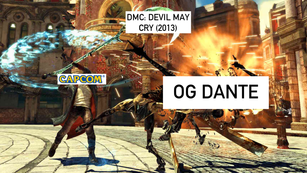The Story of the Dante That Devil May Cry Fans Never Wanted (And why Devil May Cry 5 is awesome)