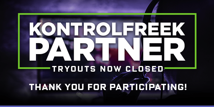 Here Are All of the Winners for the KontrolFreek Partner Tryout!