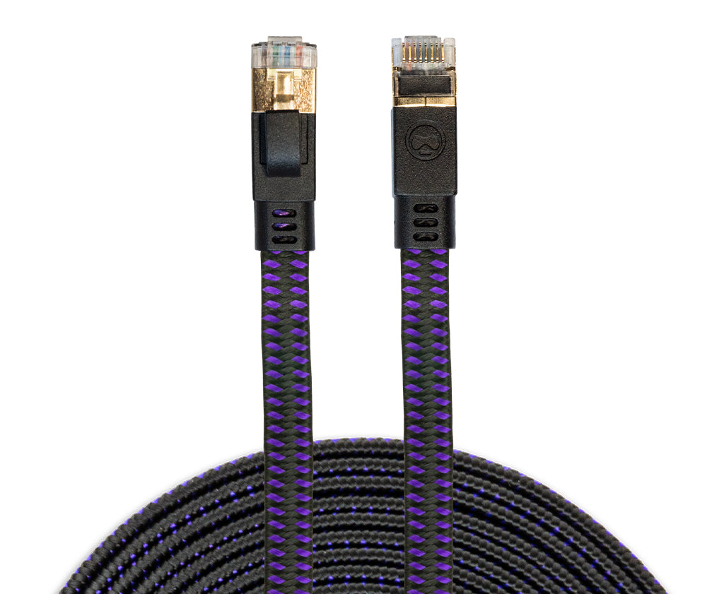 12' CAT-8 Ethernet Gaming Cable™
