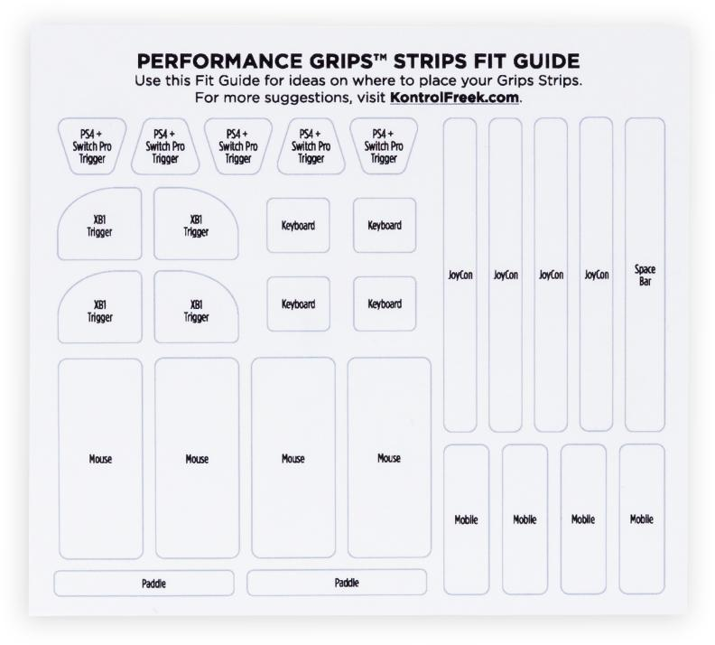 Performance Grips Strips