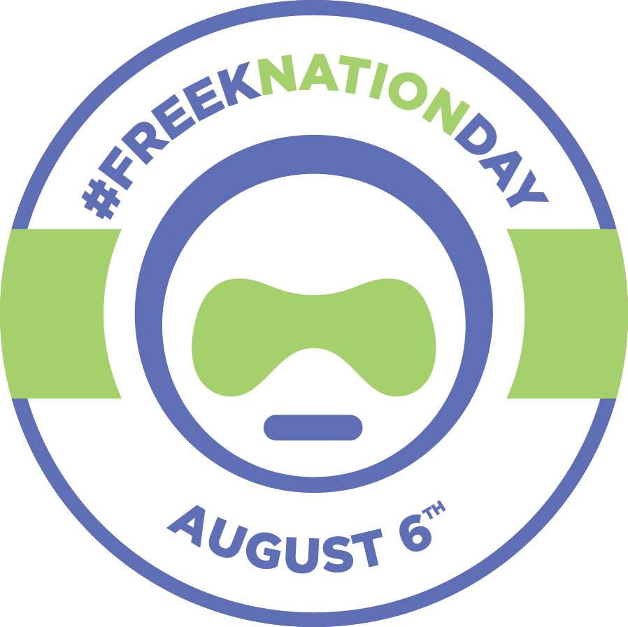 FREE! Freeknation Day Sticker!