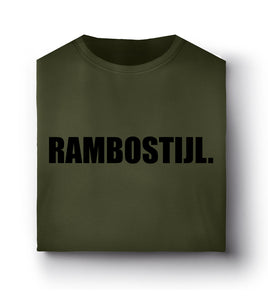 RS Stad BASIS T-Shirt  Olijf