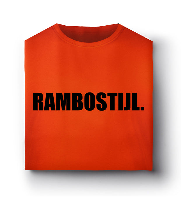RS Stad BASIS T-Shirt Sinaasappel