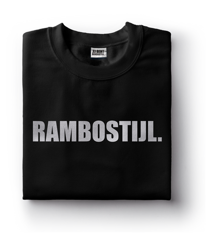 T-shirt RS Zwart