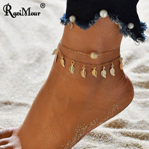 RAVIMOUR Anklets for Women