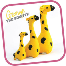 Load image into Gallery viewer, Giraffe - Beco Family Plush Toys for Dogs