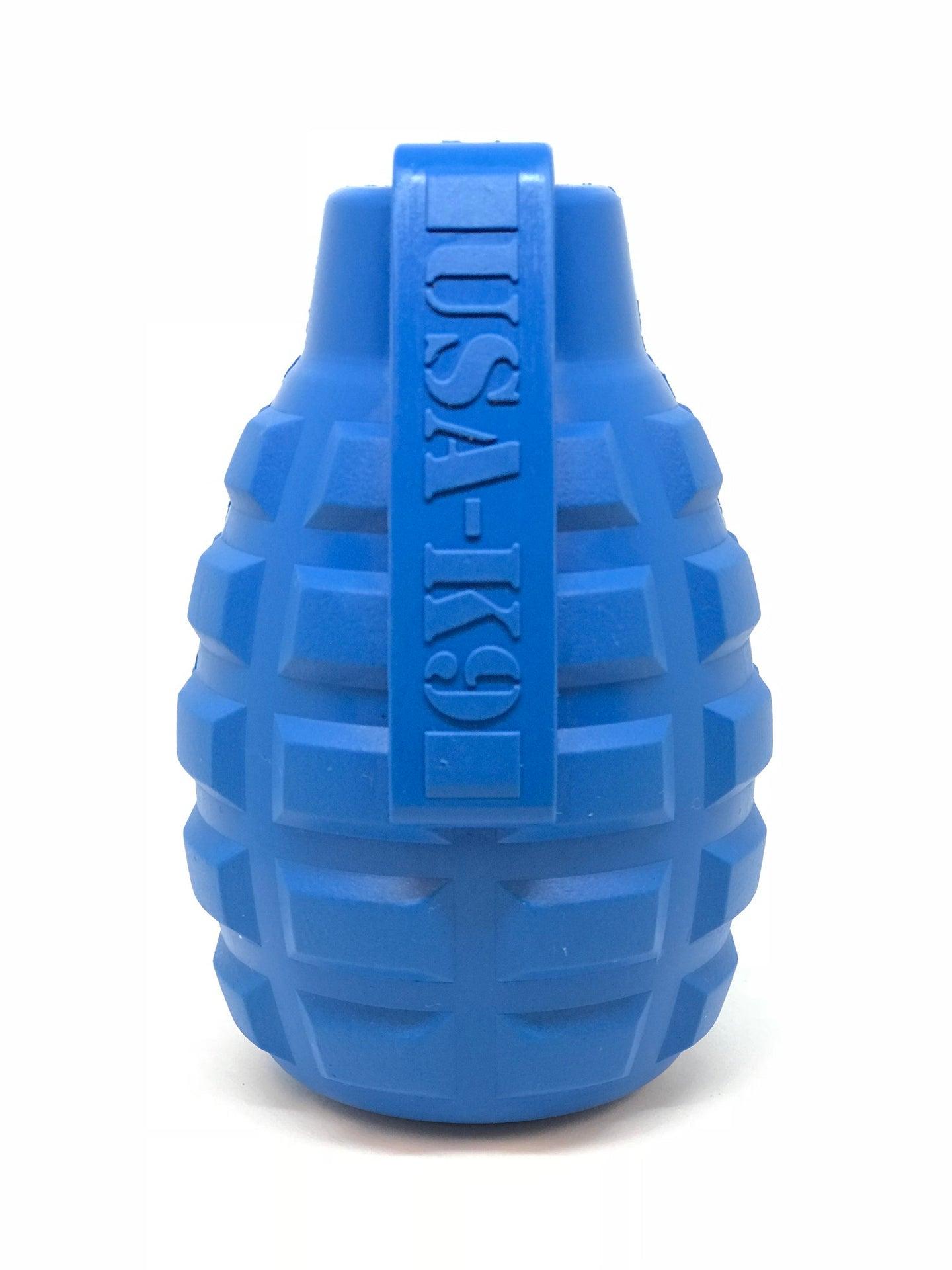 USA-K9 Grenade Treat Dispenser & Chew Toy - Blue