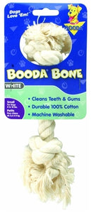 Booda 2-Knot Rope Bone White Small