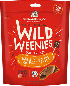 Stella & Chewy's Dog Freeze Dried WEENIE Beef Formula
