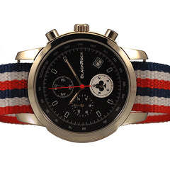 RED WHITE & BLUE WATERPROOF STRAP