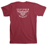 Couchmen Member Tee - Cardinal Red