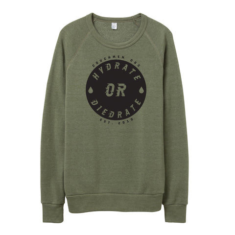 Hydrate or Diedrate Sweater - Army Green