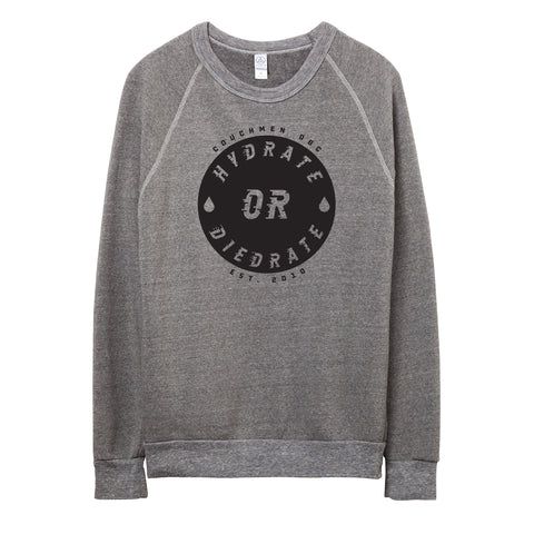 Hydrate or Diedrate Sweater - Grey