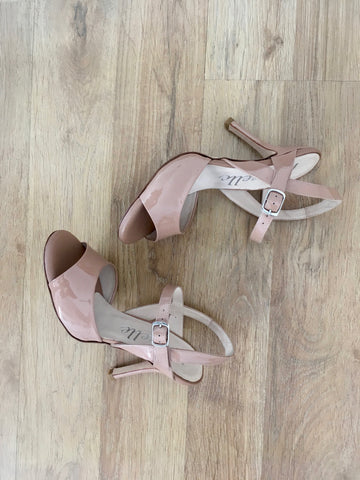 CHERIE: Elegant Grey High Heeled Shoes