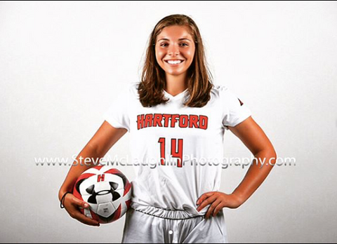 MAGALIE KAYROUZ #14 HARTFORD UNIVERSITY WOMENS SOCCER TEAM
