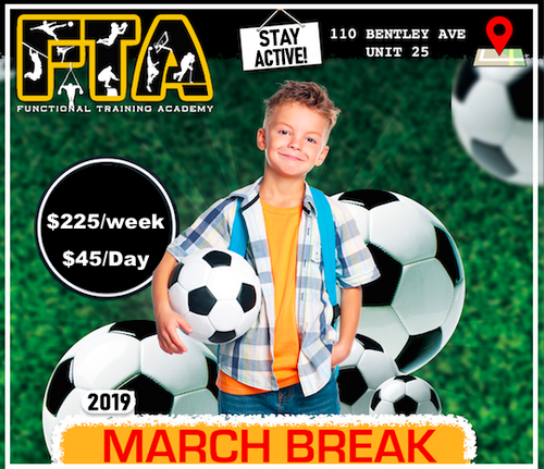 March Break Camp 2019