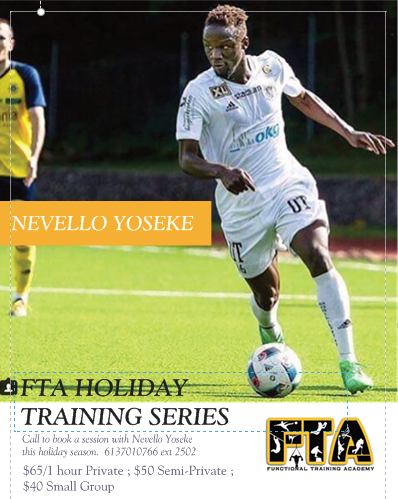 FTA HOLIDAY TRAINING SERIES with Nevello Yoseke